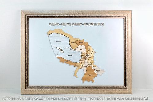 Спилс-карта Санкт-Петебурга области стандарт плюс