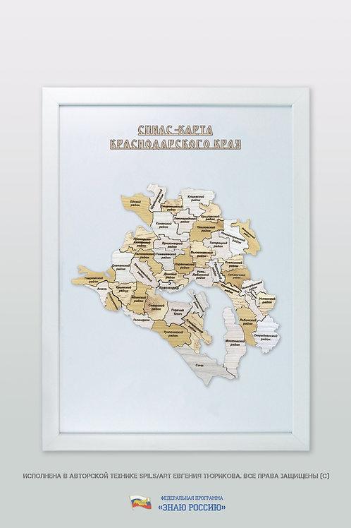 Краснодарский край - спилс-карта стандартная