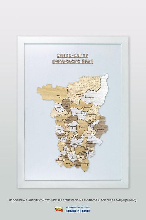 Пермский край - спилс-карта стандартная