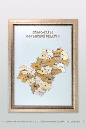 Спилс-карта Калужской области стандарт плюс