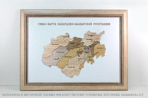 Спилс-карта Кабардино-Балкарии стандарт плюс
