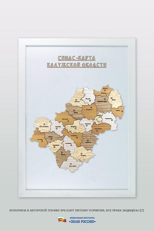 Калужская область - спилс-карта стандартная