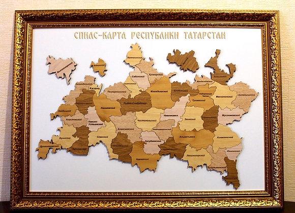 Спилс-карта Татарстана   Премиум