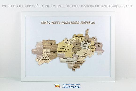 Марий Эл - спилс-карта стандарт