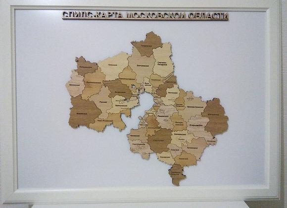 Спилс-карта Московской области