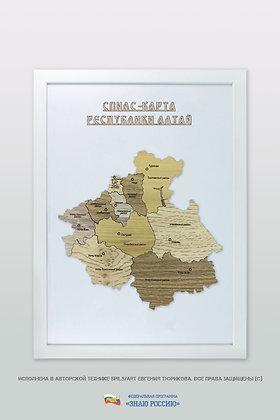 Алтай Республика - спилс-карта стандартная