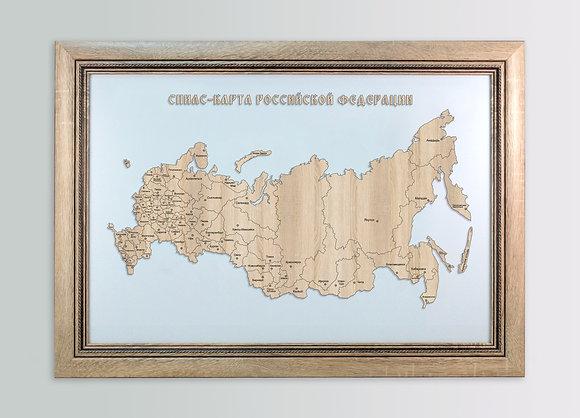 Россия - спилс-карта стандарт плюс большая
