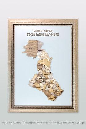 Спилс-карта Дагестана стандарт плюс