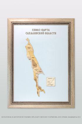 Спилс-карта Сахалинской области стандарт плюс