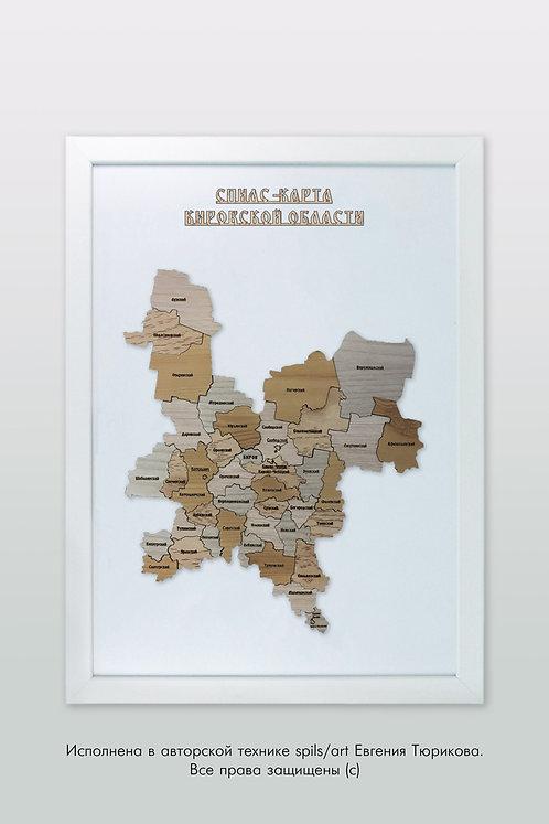 Кировская область - спилс-карта стандарт