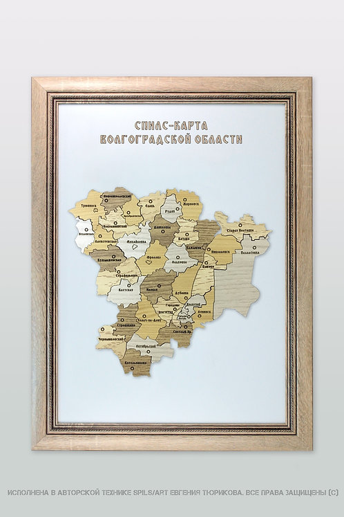 Спилс-карта Волгоградской области стандарт плюс