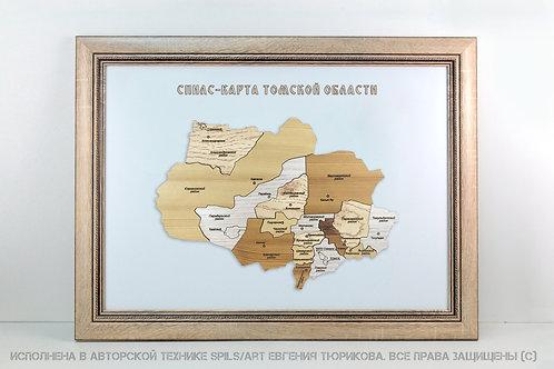 Спилс-карта Томской области стандарт плюс