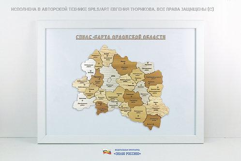 Орловска область - спилс-карта стандарт