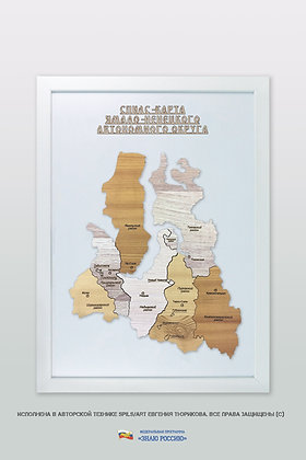 Ямало-Ненецкий АО - спилс-карта стандарт