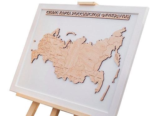 Российская Федерация - спилс-карта стандартная
