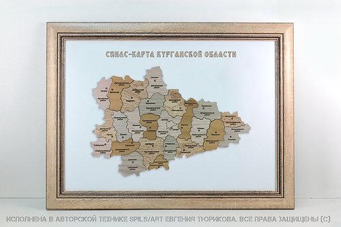 Спилс-карта Курганской области стандарт плюс