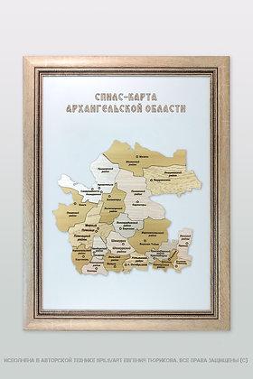 Спилс-карта Архангельской области стандарт плюс