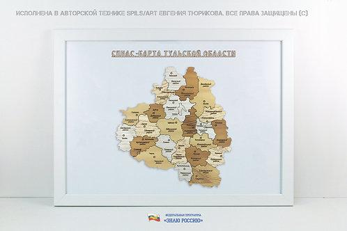Тульская область - спилс-карта стандарт