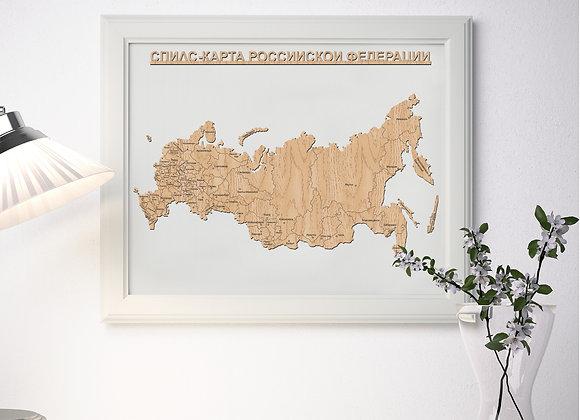 Спилс-карта РФ