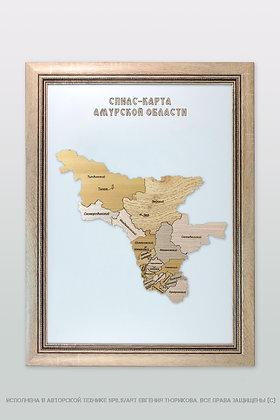 Спилс-карта Амурской области стандарт плюс
