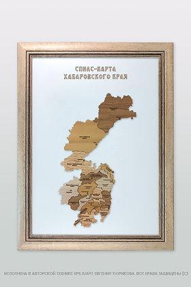 Спилс-карта Хабаровского края стандарт плюс