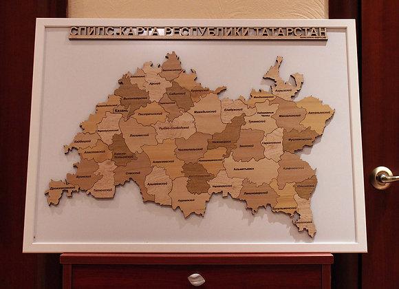 Спилс-карта Республики Татарстан