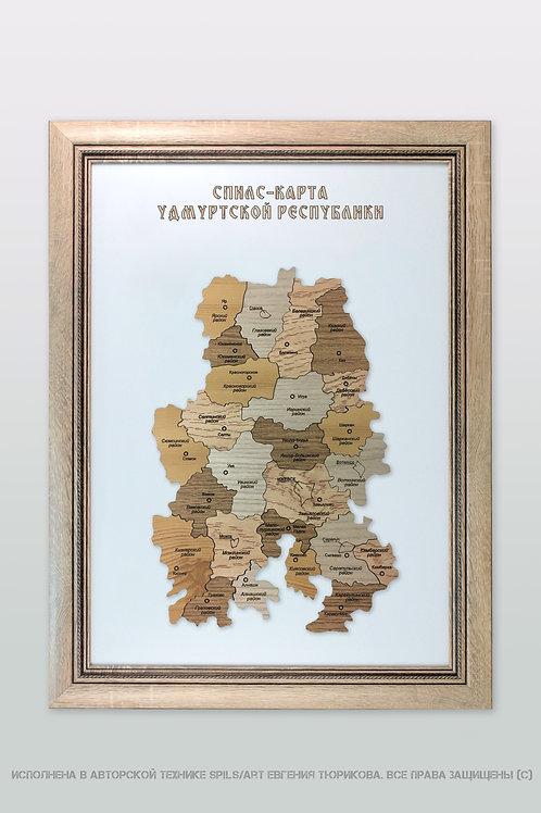 Спилс-карта Удмуртии стандарт плюс