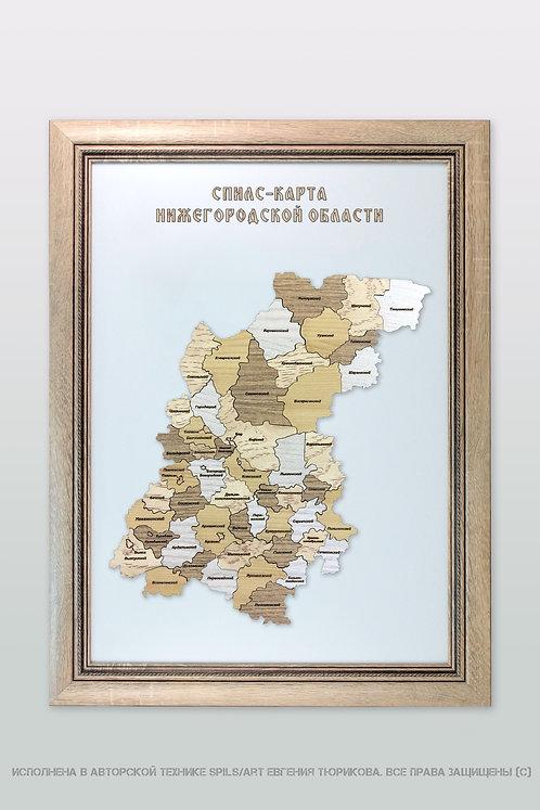 Спилс-карта Нижегородской области стандарт плюс