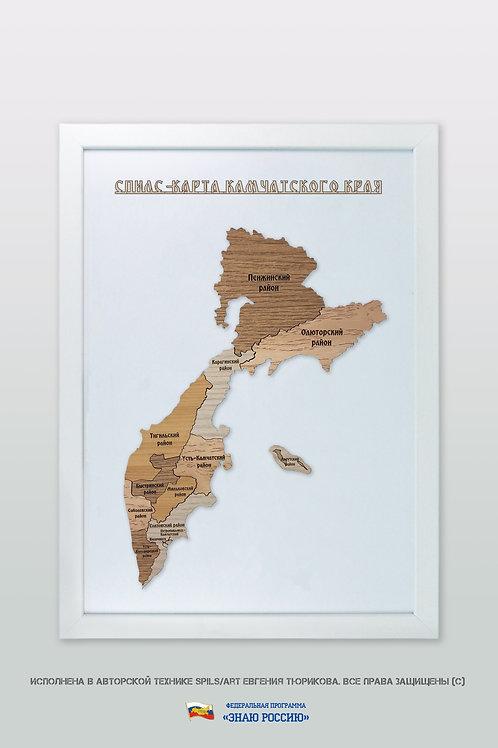 Камчатский край - спилс-карта стандартная