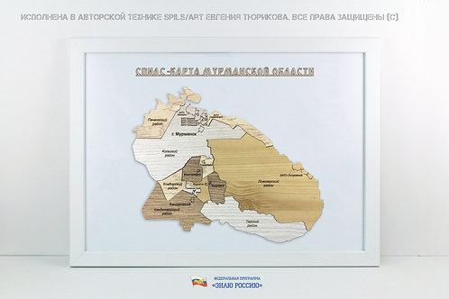 Мурманская область - спилс-карта стандарт