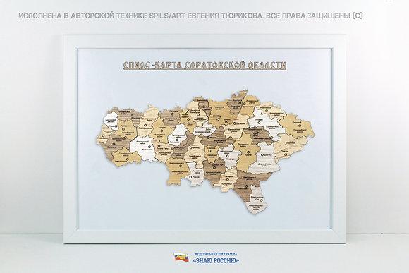 Саратовская область - спилс-карта стандарт