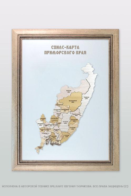 Спилс-карта Приморского края стандарт плюс