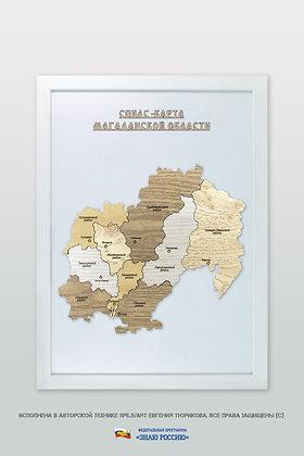 Магаданская область - спилс-карта стандартная
