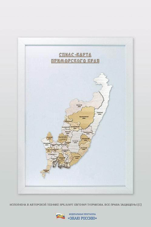 Приморский край - спилс-карта стандартная