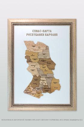 Спилс-карта Карелии стандарт плюс