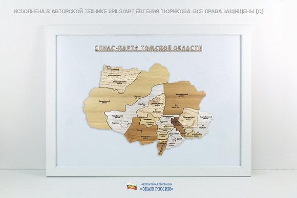 Томская область - спилс-карта стандарт