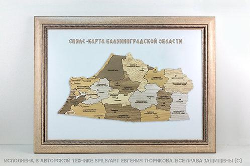 Спилс-карта Калининградской области стандарт плюс
