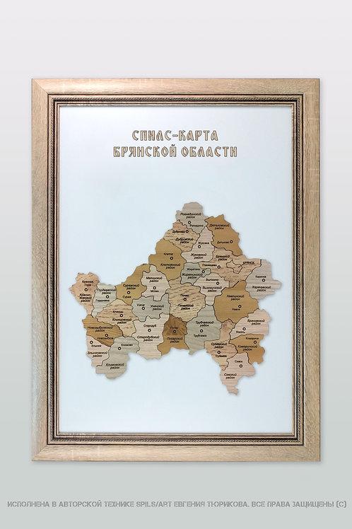 Спилс-карта Брянской области стандарт плюс