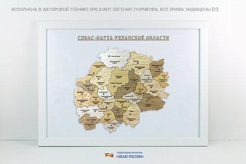 Рязанская область - спилс-карта стандарт
