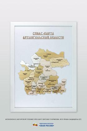 Архангельская область - спилс-карта стандартная