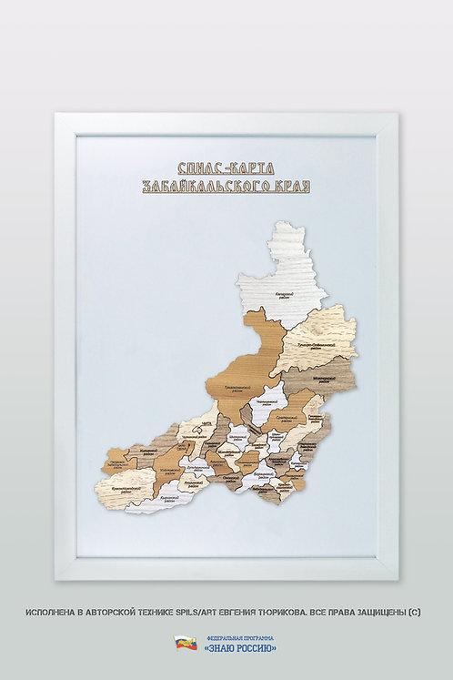 Забайкальский край - спилс-карта стандартная