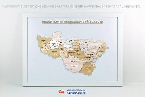Владимирская область - спилс-карта стандарт