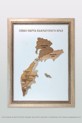 Спилс-карта Камчатского края стандарт плюс