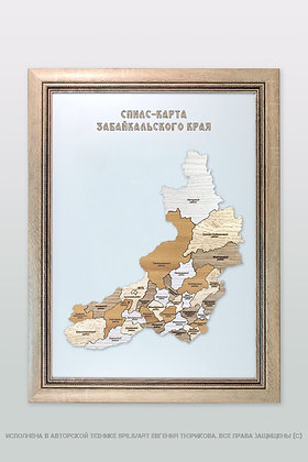Спилс-карта Забайкальского края стандарт плюс