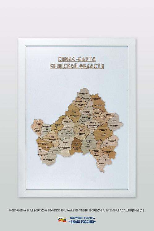 Брянская область - спилс-карта стандартная
