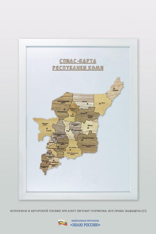 Коми Республика - спилс-карта стандартная