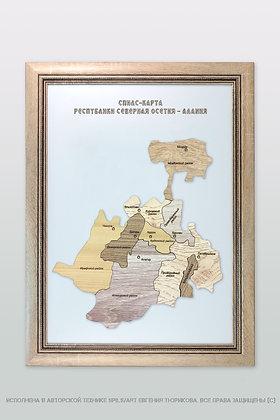 Спилс-карта Северной Осетии стандарт плюс