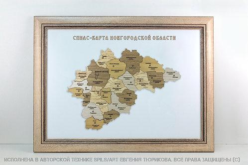 Спилс-карта Новгородской области стандарт плюс