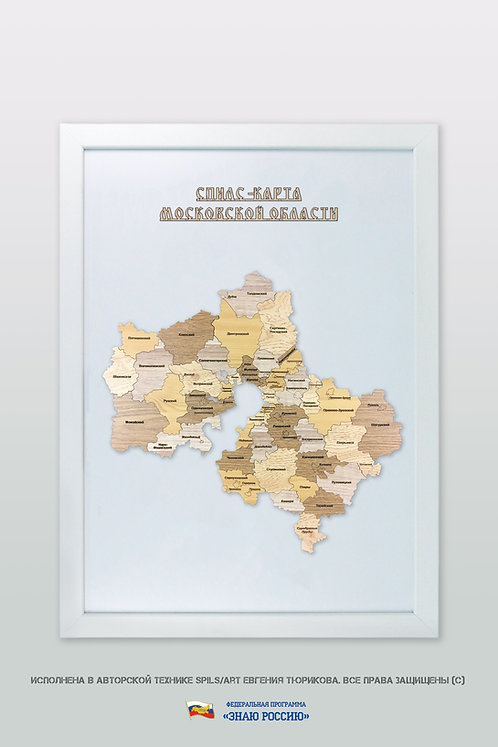 Московская область - спилс-карта стандартная
