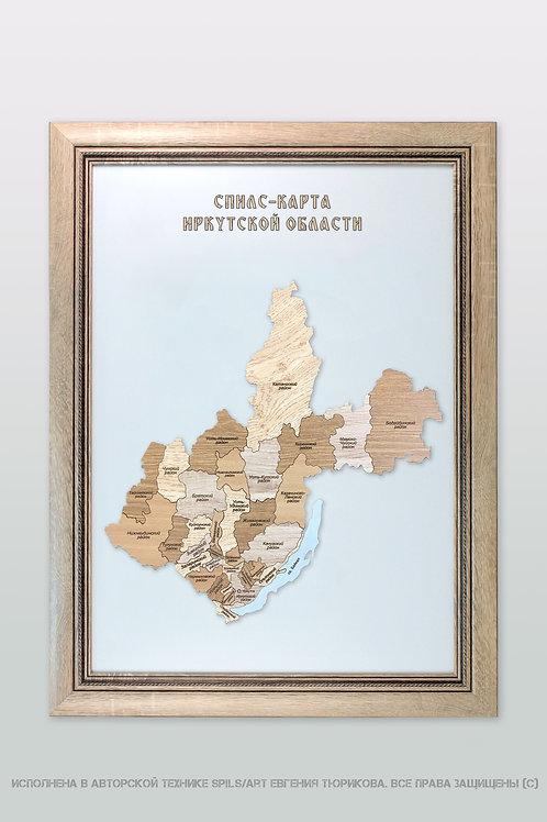 Спилс-карта Иркутской области стандарт плюс